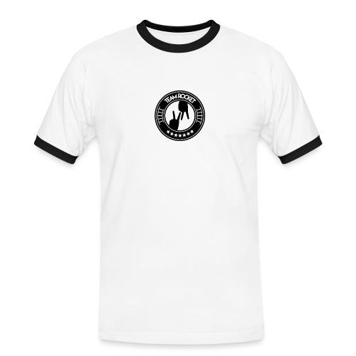 TEAM ROCKET NOIR - VapeNaysh - T-shirt contrasté Homme