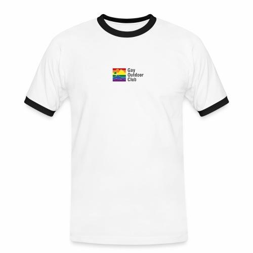 GOC Logo Black Text - Men's Ringer Shirt