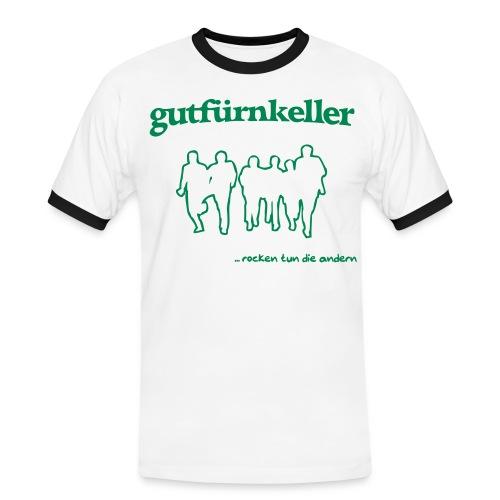 rocken tun die andern - Männer Kontrast-T-Shirt