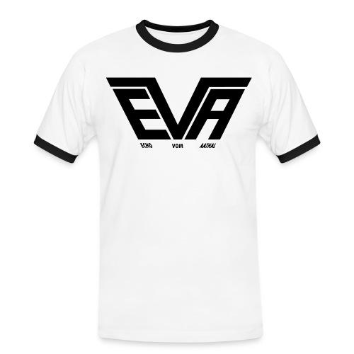EVA Logo FB 01fürPfade - Männer Kontrast-T-Shirt