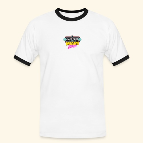 Miami Beach - Men's Ringer Shirt