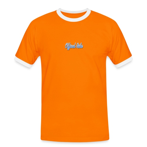 Offical Ride - Männer Kontrast-T-Shirt