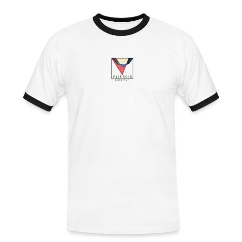 Official Flip Side logo - Men's Ringer Shirt