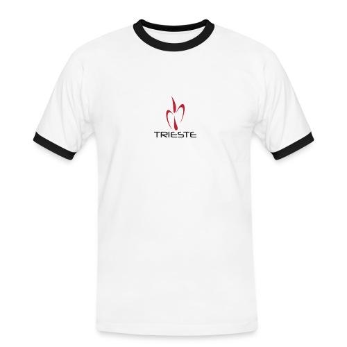 TRIESTE Bianca png - Maglietta Contrast da uomo