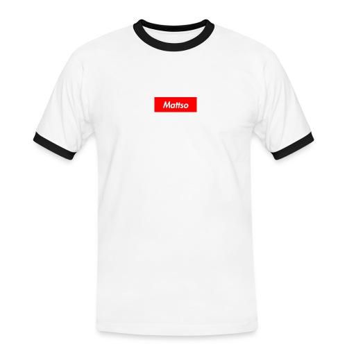 Mattso Merch to Flex - Men's Ringer Shirt