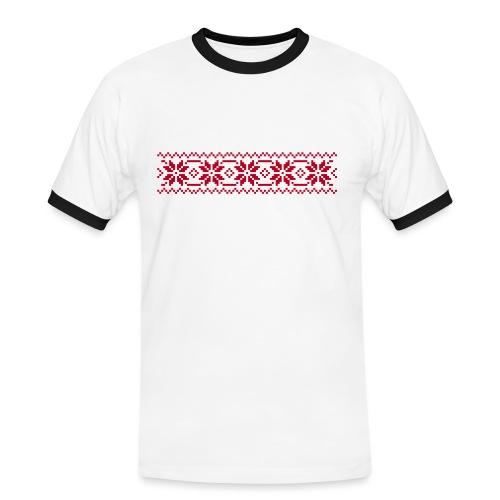 selbu 1c monster 010 - Kontrast-T-skjorte for menn
