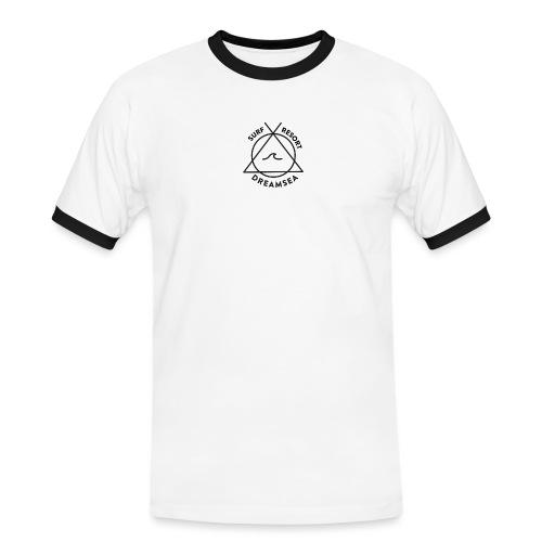 DREAMSEA SURF RESORT NEGRO - Camiseta contraste hombre