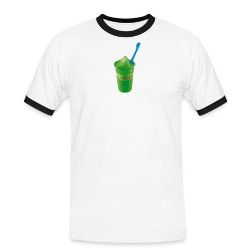Waldmeister Gelb/Grün - Männer Kontrast-T-Shirt