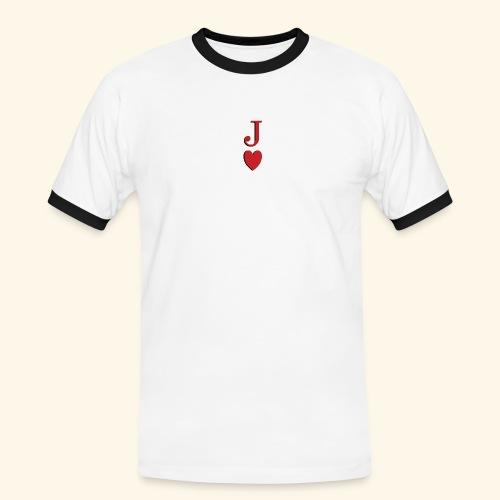 Valet de trèfle - Jack of Heart - Reveal - T-shirt contrasté Homme