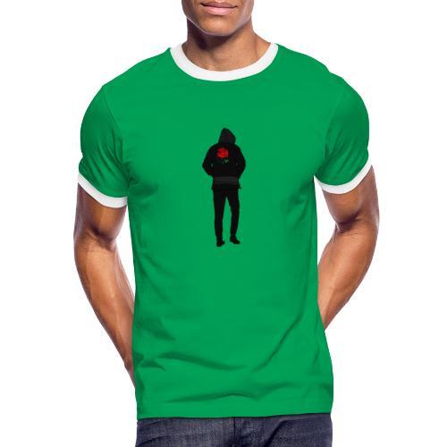 lrli - Maglietta Contrast da uomo