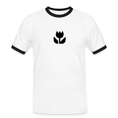 Makro - Männer Kontrast-T-Shirt