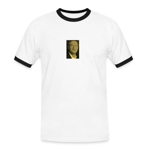 Escher hilft - Männer Kontrast-T-Shirt