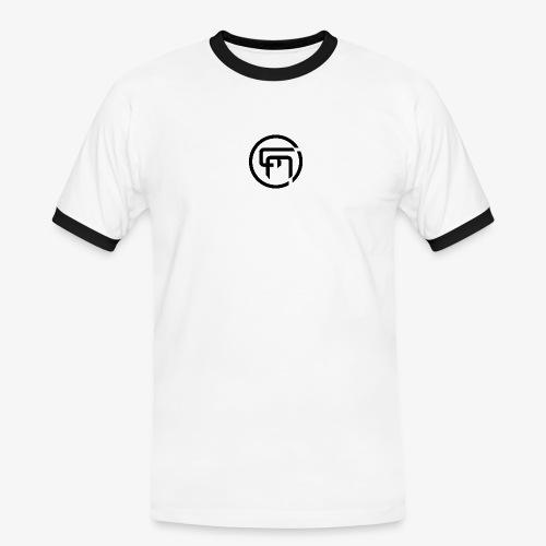 Chris Mitchell Black Logo - Men's Ringer Shirt