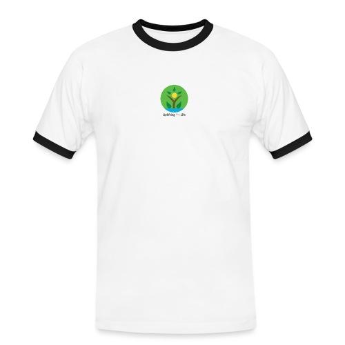 Uplifting My Life Official Merchandise - Men's Ringer Shirt