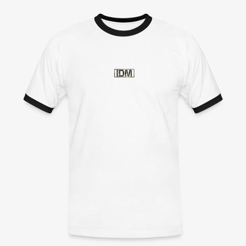 Urban Camo - Brown - Men's Ringer Shirt
