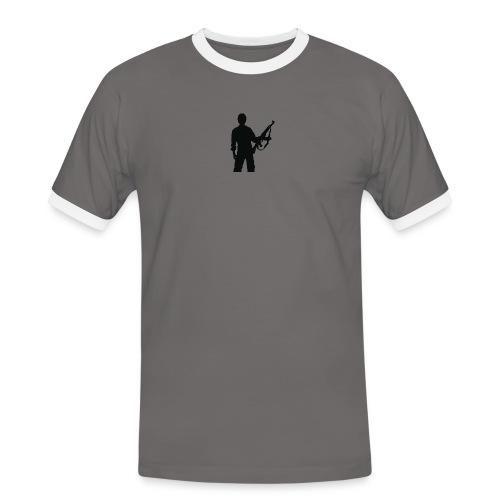 RESISTENZA INTERNAZIUNALE - T-shirt contrasté Homme