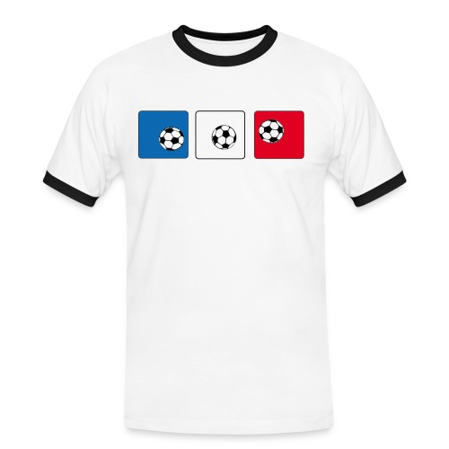 Boule - Männer Kontrast-T-Shirt