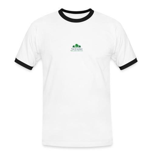 TOS logo shirt - Men's Ringer Shirt
