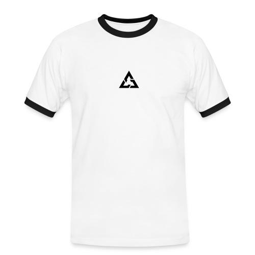 Angle Logo Brand - Maglietta Contrast da uomo