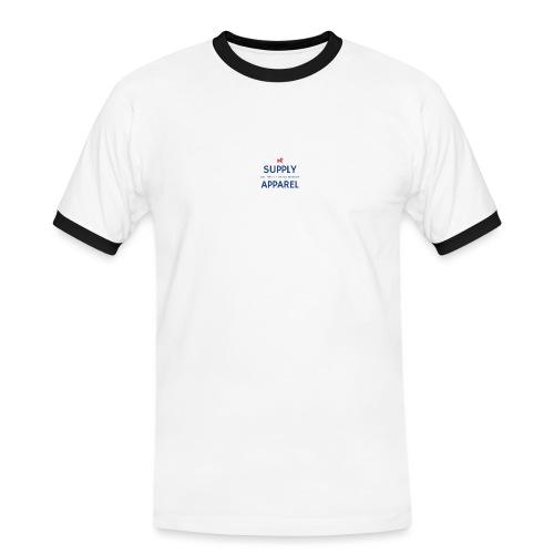 Plain EST logo design - Men's Ringer Shirt