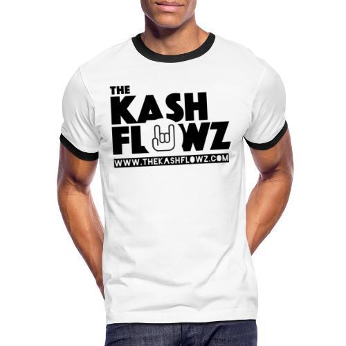 Web Site Logo Black - T-shirt contrasté Homme