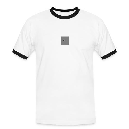 Logo-png - Koszulka męska z kontrastowymi wstawkami