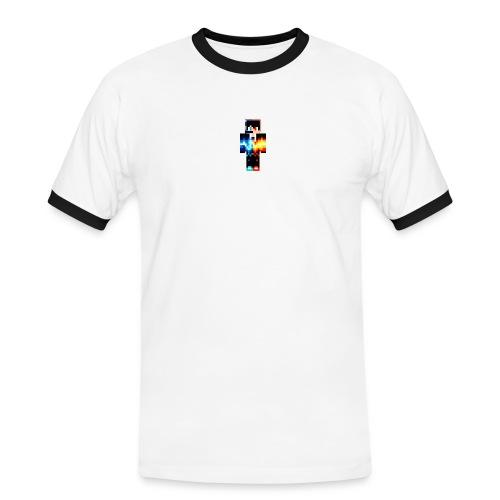 Cooler Skin - Männer Kontrast-T-Shirt