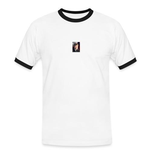 300 - Kontrast-T-skjorte for menn