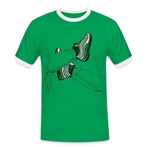 AM97 andtheboys - Herre kontrast-T-shirt