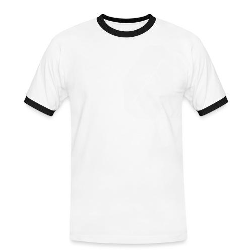 tshirtwhitelogoright - Men's Ringer Shirt