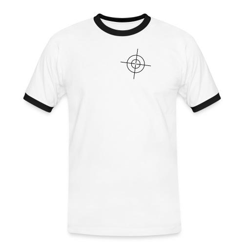 Fadenkreuz png - Männer Kontrast-T-Shirt