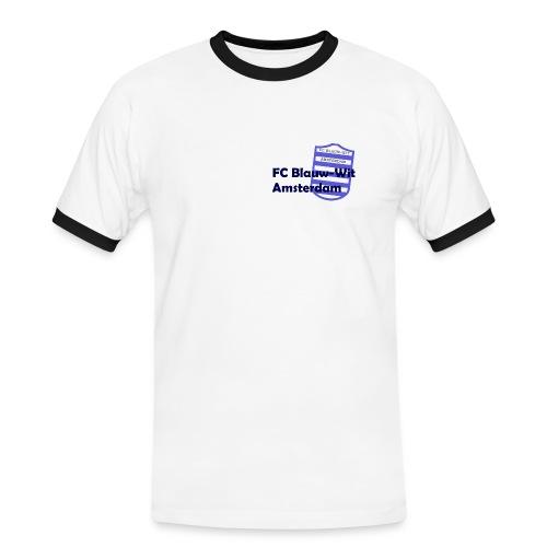 blauwwitadam - Mannen contrastshirt