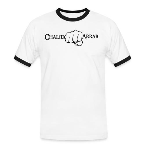 logoneuchalid arrab - Männer Kontrast-T-Shirt