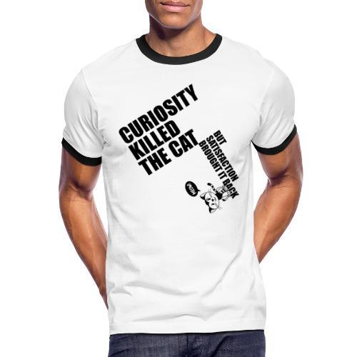 Curiosity killed the cat - Camiseta contraste hombre