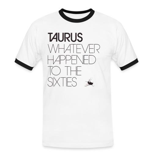 Taurus - Whatever happened to the sixties - Herre kontrast-T-shirt
