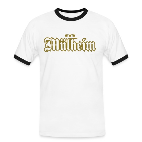 Mülheim (kölsches Veedel) - Männer Kontrast-T-Shirt