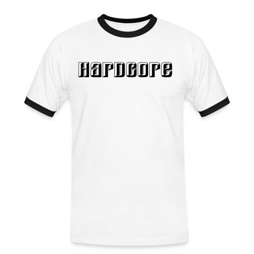 hardcore2 - Mannen contrastshirt