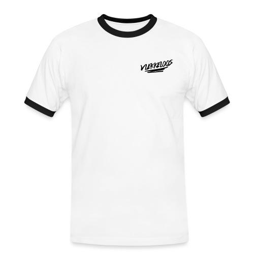 Vlekkeloos Logo Zwart - Mannen contrastshirt