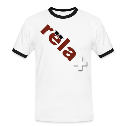 relaxed in Switzerland - Männer Kontrast-T-Shirt