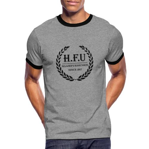 HFU - Männer Kontrast-T-Shirt