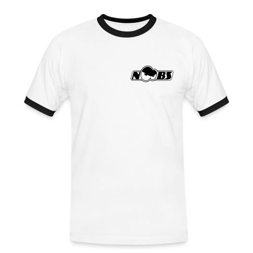 n00bz augen final ai9 - Männer Kontrast-T-Shirt
