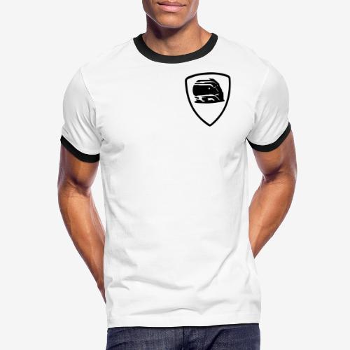 badge-helmet-team - T-shirt contrasté Homme
