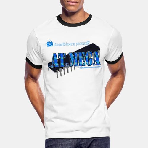 dATisMEGA - Männer Kontrast-T-Shirt