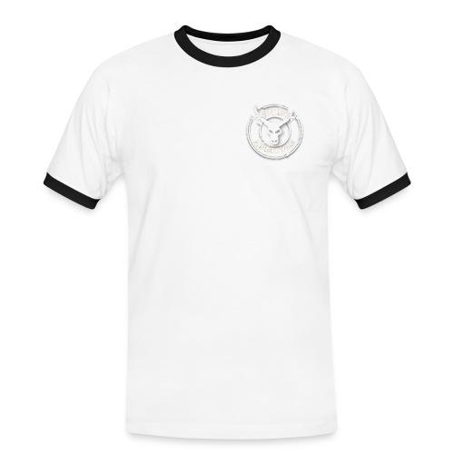 Logo weiß png - Männer Kontrast-T-Shirt