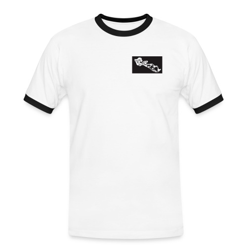 iledere logo1 png - T-shirt contrasté Homme