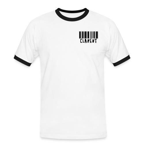 clarentcode style LOGO png - Männer Kontrast-T-Shirt