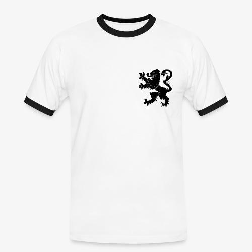 Blason Lions de Guerre - T-shirt contrasté Homme