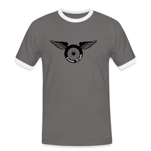 roue aile - T-shirt contrasté Homme