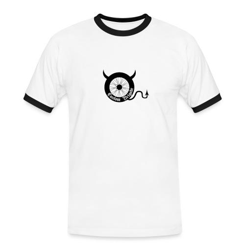 roue devil - T-shirt contrasté Homme