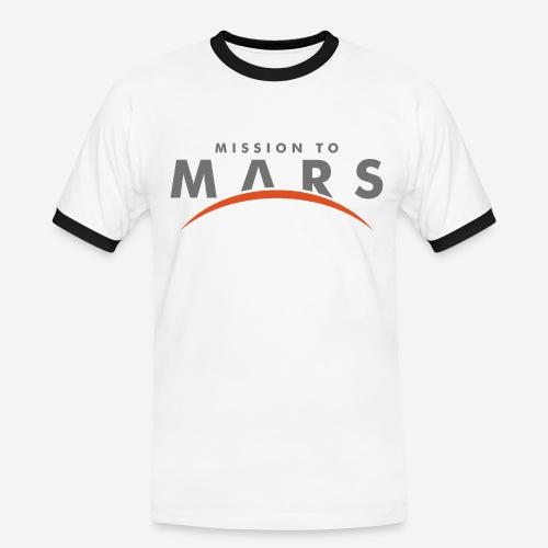 mission to mars - Männer Kontrast-T-Shirt